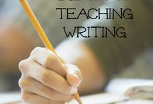 Teaching Writing / Teaching strategies, lessons, and resources specifically for writing with an emphasis on 5th through 8th grade writing.  / by Corinne