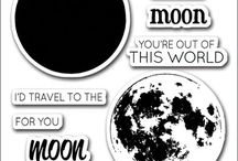 Cards - Moon
