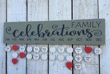 Calendario famiglia