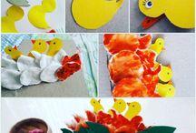 Chick craft and art ideas