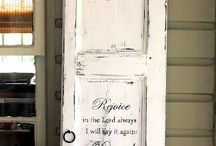 Porch decor / by Amy Lawing