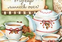 Cafe & Tea  Decoupage..