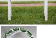 como hacer arcos florales