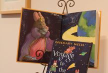 Rosemary Wells Exhibit / The de Grummond Children's Literature Collection at The University of Southern Mississippi featured 60-plus original watercolor and mixed media art pieces of Rosemary Wells, award-winning children's book author and illustrator at an exhibit during the month of February.