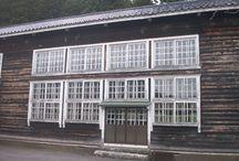 旧鮎川小学校(秋田県由利本荘市)