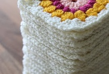 Granny square crochet / by Connie Griffice-Perry