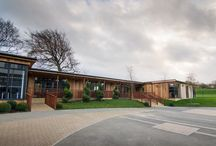 Shotton Hall / We were appointed by the Academy at Shotton Hall to create a learning centre that incorporates additional classroom space; a dedicated teacher training facility to support the school's role as a National Teaching School and a new administration centre.