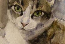 Taide kissat / Piirtäen ja maalaten