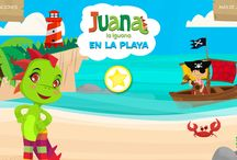 Juana la Iguana Apps / Here you will find all our educational apps for your child to play and learn spanish.   Aquí encuentras los apps de Juana la Iguana para que tu hijo/hija aprenda el español!