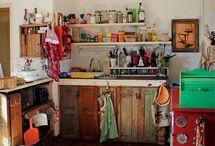 cocinas y baños pequeños
