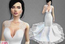 Sims 4 wedding cc