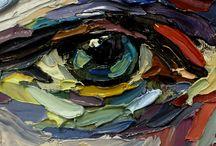impasto paintings