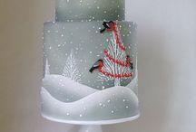 airbrush cake