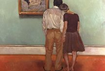 Joseph Lorusso / Figurative Painter  When warm colors become passion and emotion.