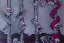 Oil paintings Mia Stranden / Oil on canvas