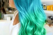 Awesome colorful hair