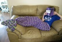 Piper's Mermaid Afghan / This board traces the journey yarn takes to become a commissioned piece
