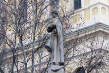 Miskolc szobrai / Statues in Miskolc