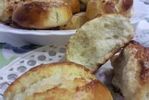 Bollos suizos o bollitos de leche / Golosolandia: Taras y postres caseros Recetas fáciles en: http://www.golosolandia.blogspot.com