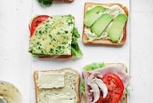 Recipes - Sandwiches & Wraps / Pretty much all variations on grilled cheese / by Sandy Sokoloski