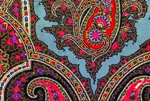 Patterns / Fabric patterns. Paisley, Boho etc