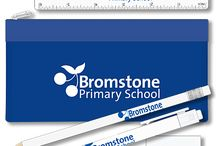 School Stationery Products / A showcase of stationery for schools including letterheads, compliments slips, pads, pens, pencils etc ...