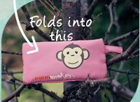 Earth Monkeys Accessories / EarthMonkeys offers Eco-Friendly Baby/Toddler Accessories. Bibs, Pacifier Packs and Diaper Pads. Made from recycled plastic bottles. Each one folds up into itself for easy on-the-go gear!