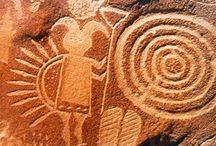 art - petroglyphs / by Tammy Vitale