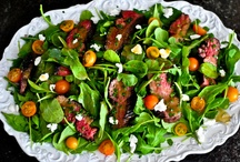 Salad Recipes / The most amazing salads, with meat!