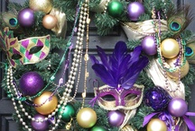 Mardi Gras Wreaths and Swag