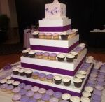 Wedding cakes / Beautiful cakes made by our decorators here at Trefzger's Bakery.