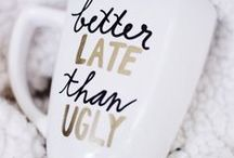 Coffee mugs, because I can't buy anymore