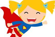 Lindos Superhéroes