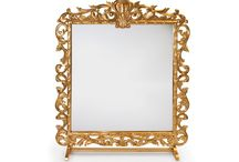 Mirrors / Rental collections of all classy and trendy mirrors for wedding parties and events including: