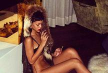 Celebrites who love fur