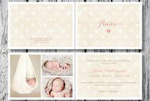 Geburtskarte Baby