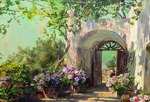 2) Landscape - Carlo Perindani