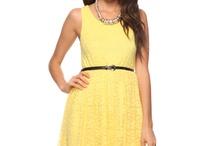 Yellow dresses / by Lynsey Nixon