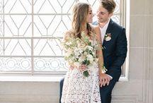 Wedding dress city hall