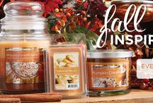 Fall Candles / All things fall, crisp, and cool.