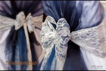Lace Bows / Beautiful Lace Bows that add a touch of vintage elegance.