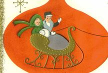 Christmas Cards, New & Vintage / by Santa James Andrews