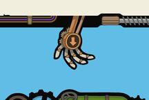 Steampunk UI