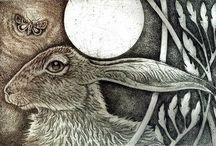 Hare in Art