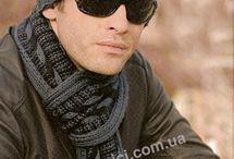 men's scarf (bufandas para hombres) / bufandas para hombres, como se usa y para qué se usa. / by olimpo pinzon