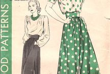 Fashion : 1940's Inspiration / by Akram Taghavi-Burris