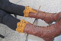 Crochet ~ Boot Cuffs & Fingerless Gloves
