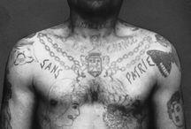 tatouages de prisonniers