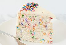 Birthday Cakes / by Eliza Morawska {white plate}