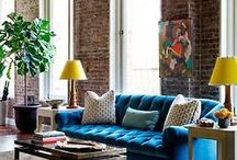 Tuft Love / An array of tufted furniture in homes.